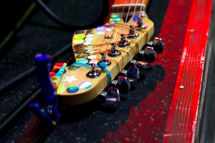 Chris Farren guitar head - Joe Medlen