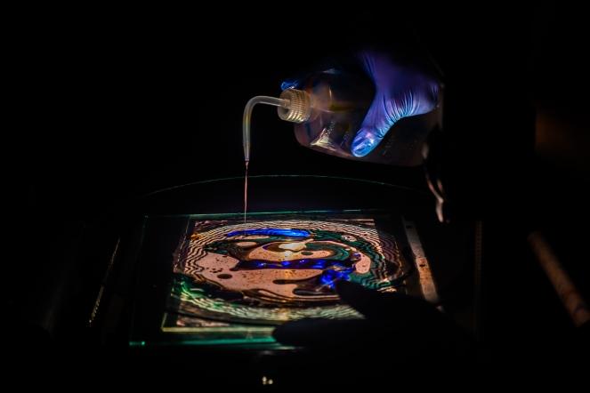liquid gel projector - Justin Adamson