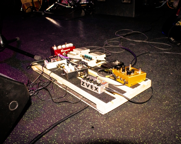 pedal board - Joe Medlen